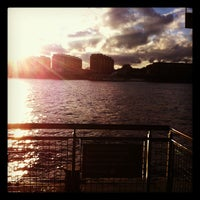 Photo taken at Canary Wharf Pier by PAINTERCOM on 11/9/2012