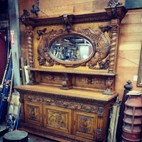 Photo taken at Euro Treasures Antiques by Tyler E. on 5/30/2014