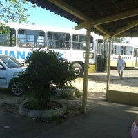 Photo taken at Terminal do Parque das Dunas by Felipe D. on 8/22/2014