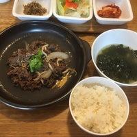 Photo taken at Eid (Korean Muslim Restaurant) by Mohamad Saiful F. on 4/4/2017