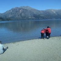 Photo taken at Lago Gutiérrez by Analia A. on 10/14/2012