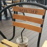 Photo taken at CAFE WORKSHOP by Rai G. on 6/29/2014
