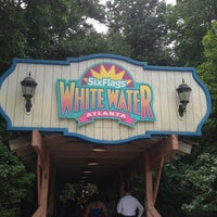 Photo taken at Six Flags White Water by Lindsay C. on 7/24/2013