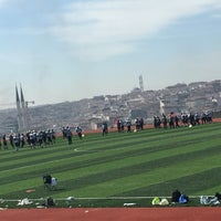 Photo taken at YTÜ Amerikan Futbolu Sahası by Eda T. on 3/10/2018