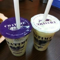 Photo taken at ChaTime (曰出茶太) by Cherrie S. on 12/31/2013