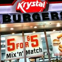 Photo taken at Krystal by Rayy L. on 4/15/2014