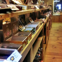 Photo taken at Smokin Joes Cigar Company by Rayy L. on 2/23/2013