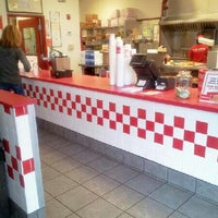 Photo taken at Five Guys by Rayy L. on 10/18/2012