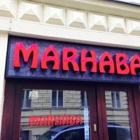 Photo taken at Marhaba Lounge Bar by Orhun S. on 6/28/2014