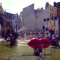 Photo taken at Stravinsky Fountain by Michiel V. on 5/4/2013