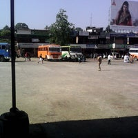 Photo taken at Private Bus Stand by Fasal A. on 1/23/2014