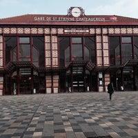 Photo taken at Gare SNCF de Saint-Étienne Châteaucreux by Дмитрий Б. on 2/19/2014