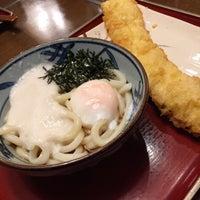 Photo taken at 金比羅製麺 京都大山崎店 by popcorm on 3/1/2015