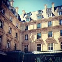 Photo taken at The Westin Paris – Vendôme by ZL G. on 7/19/2013