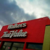 Photo taken at Walkers True Value Hardware by Terry K. on 11/9/2012
