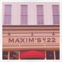Photo taken at Maxim's 22 by Carlos R. on 11/1/2012