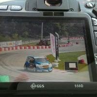 Photo taken at Varna Karting Track by Deniz Y. on 8/30/2015
