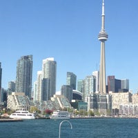 Photo taken at Billy Bishop Toronto City Airport Ferry by Joanna B. on 5/15/2013