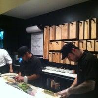 Photo taken at Sushi Dokku by Jill on 3/22/2013