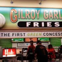 Photo taken at Gilroy Garlic Fries by JoJo P. on 4/12/2014