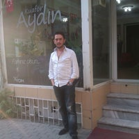 Photo taken at Aydın Hair Studio by Aydın A. on 1/5/2014