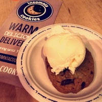 Photo taken at Insomnia Cookies by Tariq A. on 5/14/2017