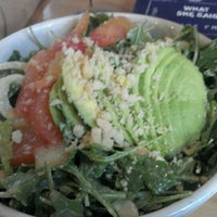 Photo taken at The Plant Cafe Organic by Marisa C. on 5/14/2012