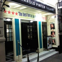 Photo taken at Harold Pinter Theatre by Katalin E. on 2/28/2012