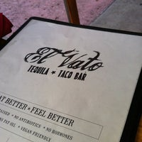 Photo taken at El Vato Tequila And Taco Bar by Xain C. on 4/2/2012