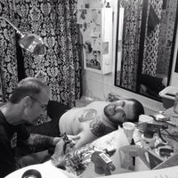 Photo taken at Tattoo Mania by Bryna J. on 7/6/2014