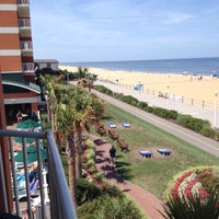 Photo taken at Holiday Inn & Suites Virginia Beach- North Beach by Chris G. on 7/9/2015