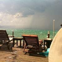 Photo taken at Kadmo Beach by Mite M. on 7/12/2013