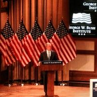 Foto tomada en George W. Bush Institute por Paul R. el 2/19/2014