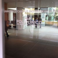 Photo taken at Università Campus BioMedico di Roma by Gian Marco B. on 9/28/2012