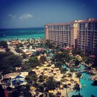 Photo taken at Marriott's Aruba Surf Club by Jason A. on 4/5/2013