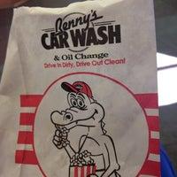 Photo taken at Bennys Car Wash & Oil Change by Anyah M. on 1/4/2014