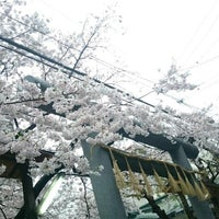 Photo taken at 御津八幡宮 by 城崎 は. on 4/7/2017
