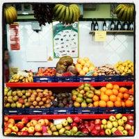 Photo taken at Mercado de Nuestra Señora de África by Javier A. on 2/24/2013