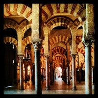 Photo taken at Mosque-Cathedral of Cordoba by Javier A. on 5/24/2013