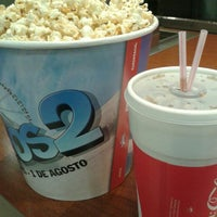 Photo taken at Cinemark by Geraldine V. on 9/8/2013