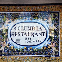 Photo taken at The Columbia Restaurant by Daniel E. on 12/27/2012