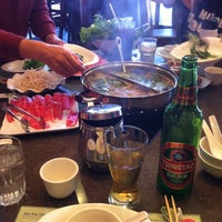 Photo taken at Little Sheep Mongolian Hot Pot by Serena O. on 11/10/2012