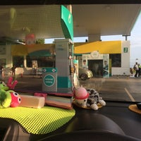 Photo taken at PETRONAS Station by Fatin H. on 2/13/2016