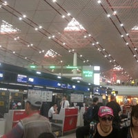 Photo taken at Air China (CA) Check-in Area by Plooos C. on 7/27/2013