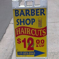 Photo taken at Uni'k Barber Shop by Vladimir V. on 6/17/2013