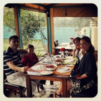 Photo taken at Bergamut Restaurant & Bar by Ecem Ayça D. on 5/4/2014
