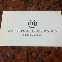 Photo taken at Master Premium Palace Hotel by Elvis Ferreira F. on 4/4/2014