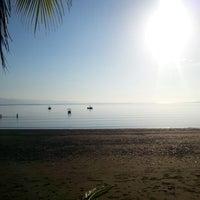 Photo taken at Playa Blanca, La Palma by Gaby A. on 1/1/2014