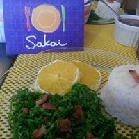 Photo taken at Sakai Gastronomia by Luiz Felippe C. on 3/23/2013