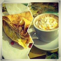 Photo taken at Rachel's Cafe & Creperie by Christina T. on 2/16/2013